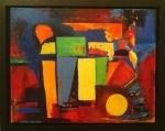 Anne Stewart -Acrylic on canvas